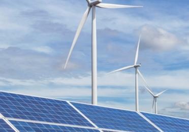 éolienne vent panneaux solaire