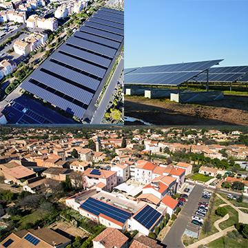 3 types solaires