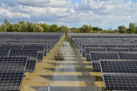 inauguration centrale solaire de Zabo béziers occitanie