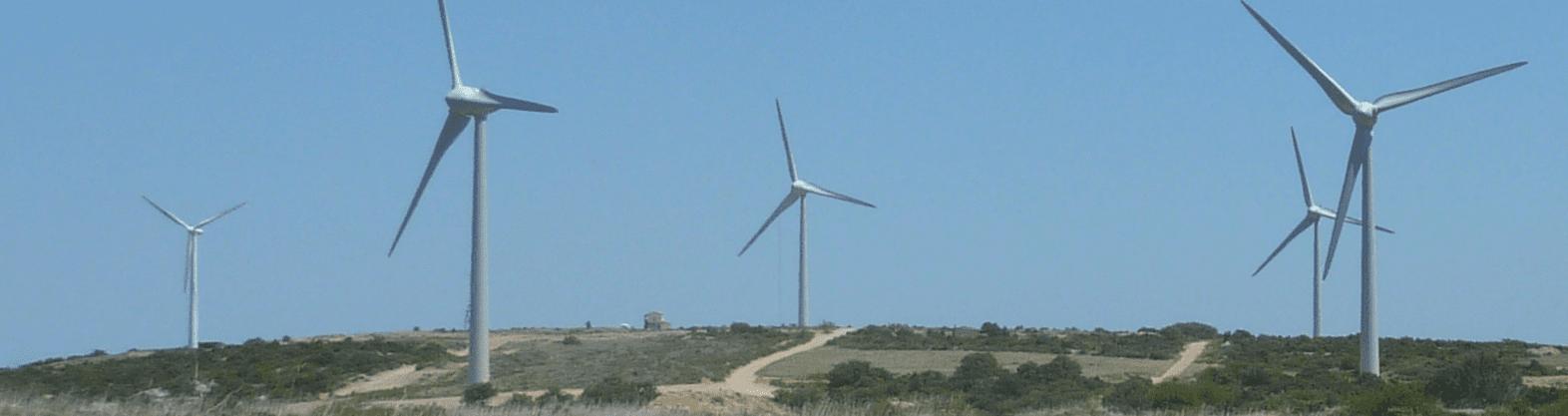 wind turbine parc total quadran
