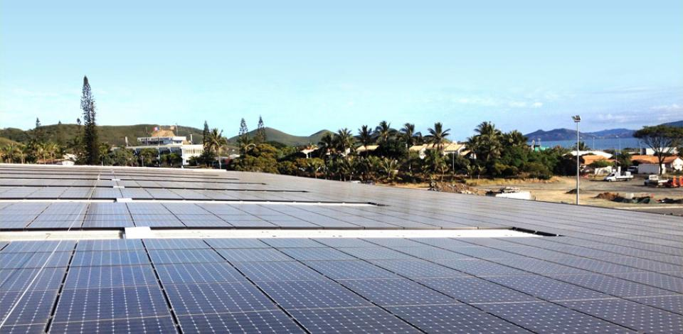 French island total quadran solar panel