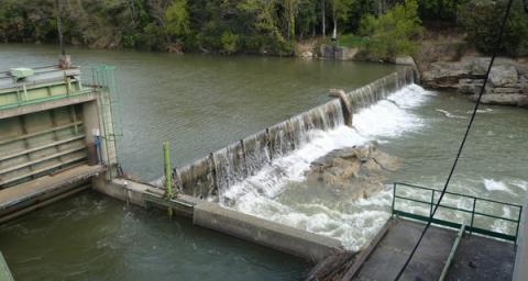 hydroelectric dam total quadran